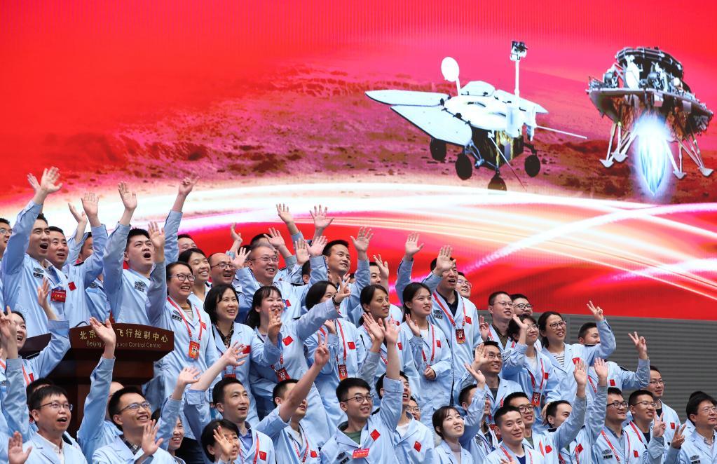 黄金赌城首次火星探测任务着陆火星成功