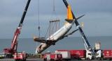 土耳其事故客机被成功吊起