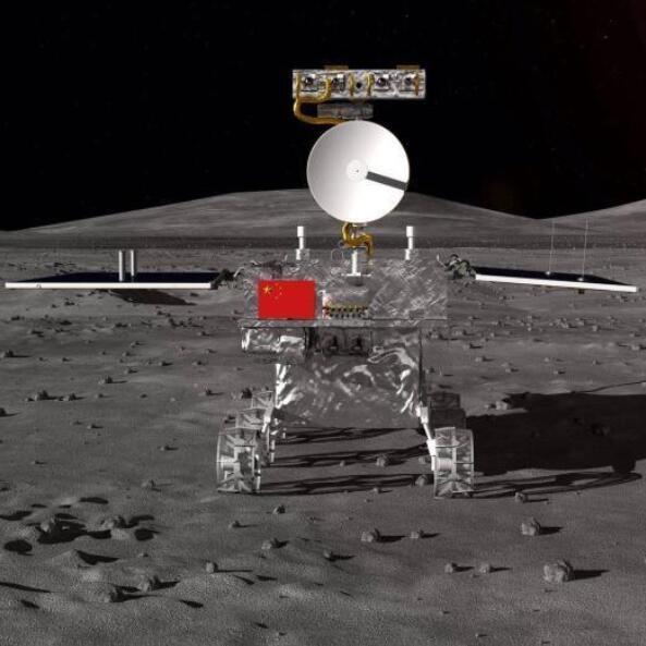 嫦娥四号月球车