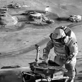 月球上建基地