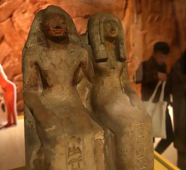 古埃及雕塑郑州展