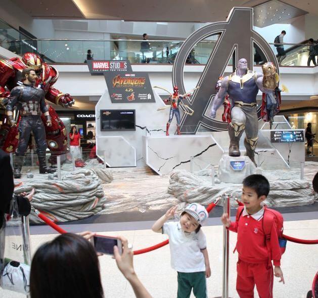 香港展出漫威世界