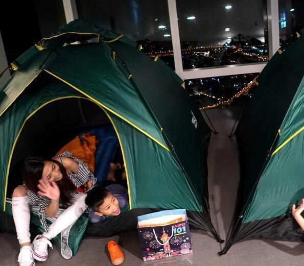台北101亲子露营