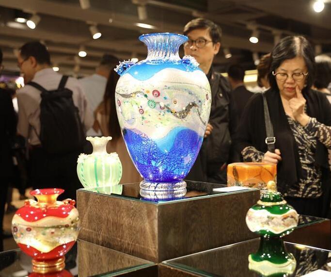 日本玻璃艺术展