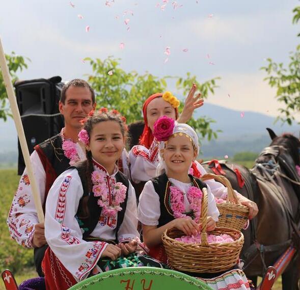 保加利亚玫瑰节