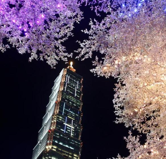 台北点亮春节时光