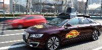 北京自动驾驶测试车辆上路测试