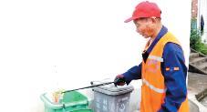 垃圾分类分拣员72岁从零开始学
