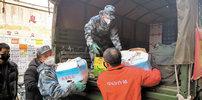 驻鄂部队两天运送物资近500吨