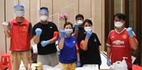 广州封∴闭式管理区:志愿服务保供应