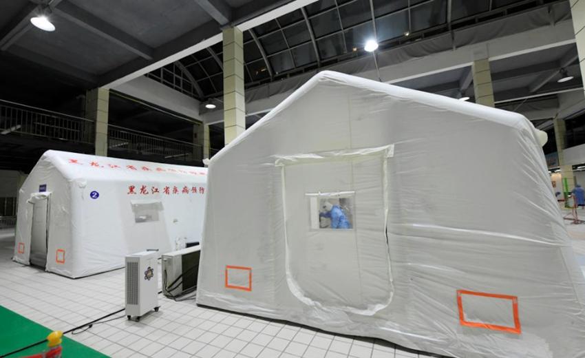 探访哈尔滨巴彦方舱核酸检测实验室