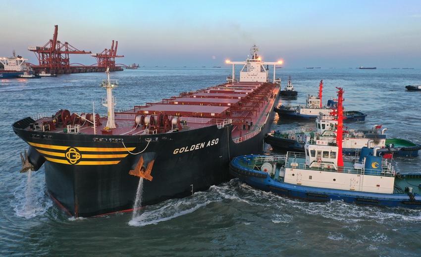 河北曹妃甸港区前三季度货物吞吐量同比增长11.34%