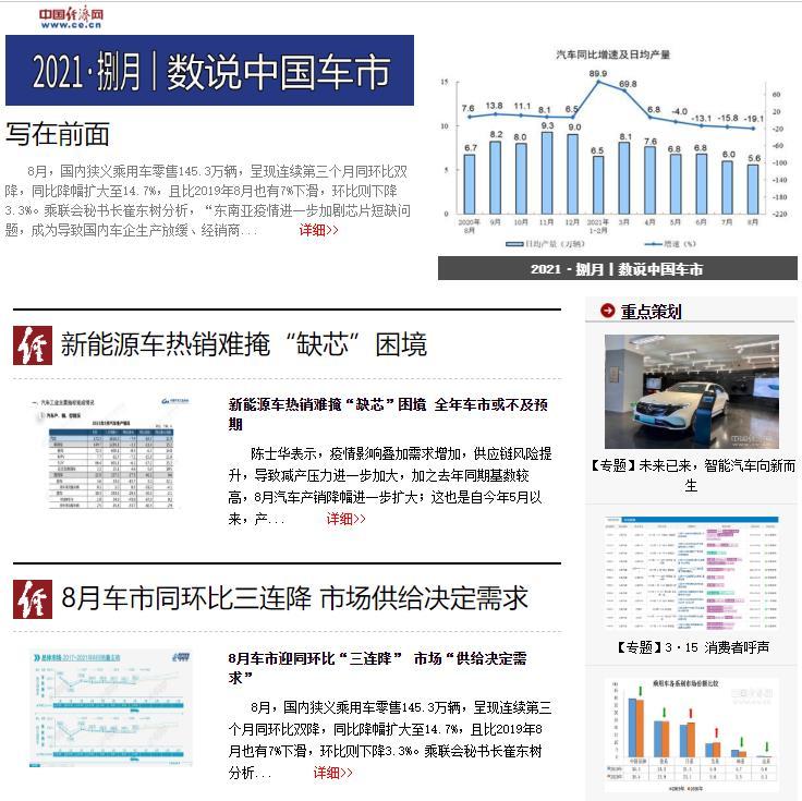 2021・捌月丨数说中国车市
