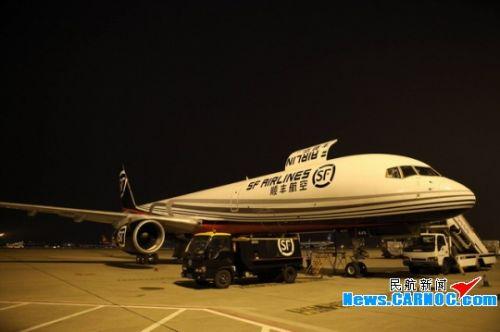 顺丰货运飞机图片