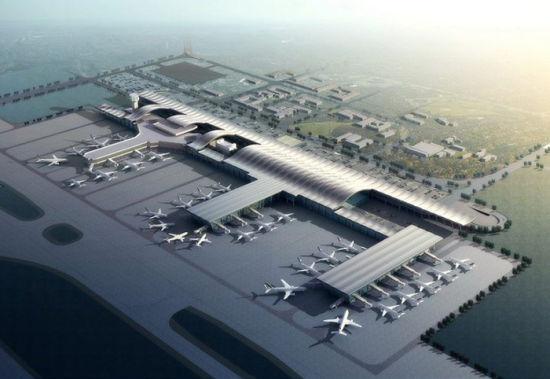 资料图:贵阳龙洞堡机场效果图.