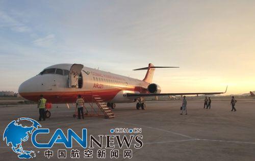 arj21-700飞机将全面开展结构载荷合格审定试飞