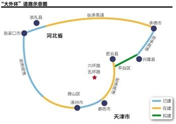 例如北京和廊坊正在规划修建从首都二机场到廊坊的