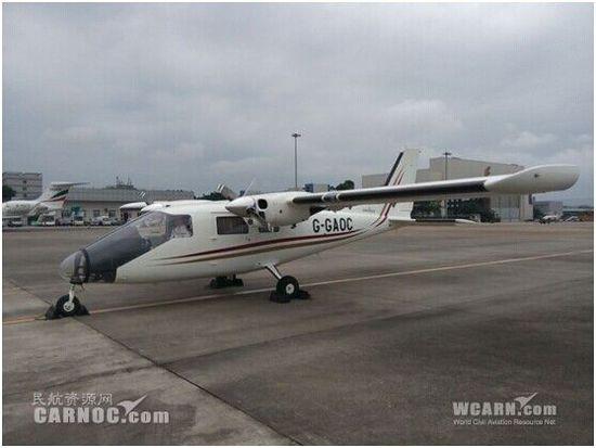 多功能双发p68观察者2飞机将亮相珠海航展
