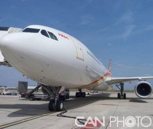 海南航空迎来两架崭新a330-300飞机