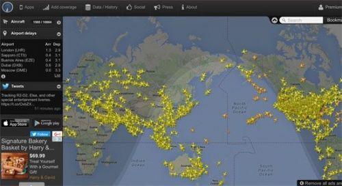 大事!flightradar24牵手易捷 提供实时航班跟踪