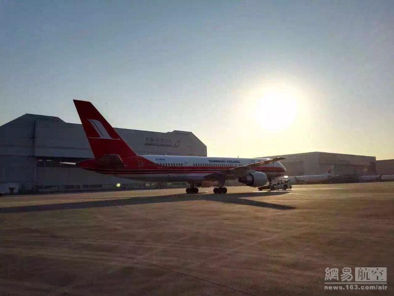 回顾上海航空30年发展历史