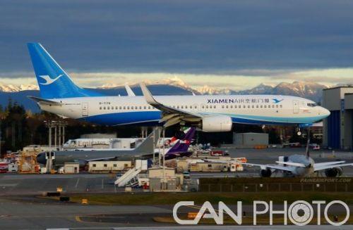 波音即将交付第8888架737飞机