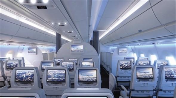 芬兰航空a350经济舱