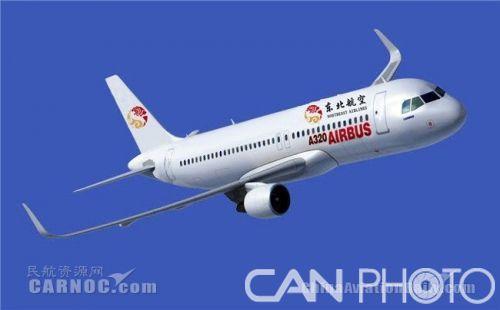 东北航空飞机涂装设计方案出炉
