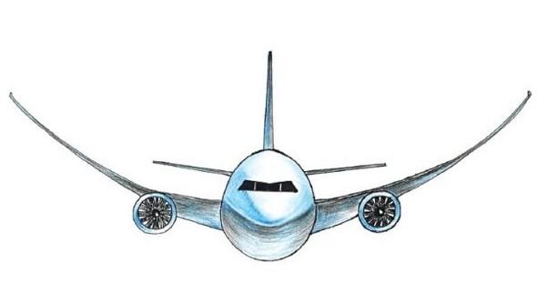 科普:飞机机翼能弯曲到什么程度?(图)