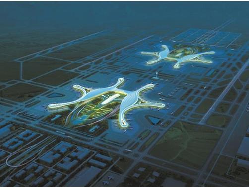 成都天府国际机场远期规划效果图   25日上午9时30分,汇聚全球机场、航空公司、旅游机构的世航会展馆正式开馆。作为东道主,成都双流国际机场展馆位于3号馆内,主展台面积约1400平方米的展馆成为全场最大的展馆,吸引了全球参会嘉宾瞩目关注,展馆里呈现的城市文化旅游、地区经济发展、机场发展等内容成为参观者的关注热点。其中,成都第二机场成都天府国际机场的规划建设是众多嘉宾争相了解的一大热点。   本届世航大会展览展示在成都世纪城新国际会展中心1-4号展馆进行,展览总面积超过4万平方米,全面展示全世界民航