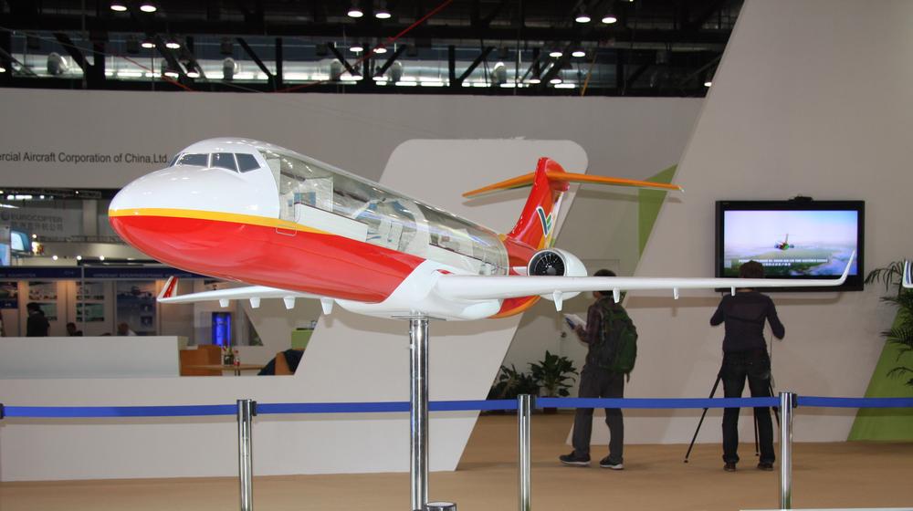 ARJ-21模型