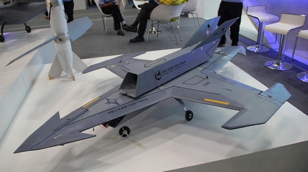 北京航展无人机酷似星战飞机