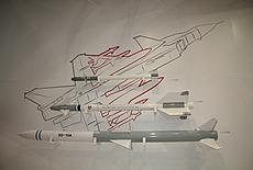 航展中展示多种机载导弹