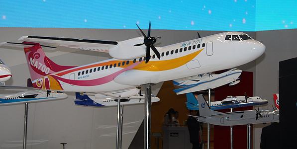 中航工业展台模型
