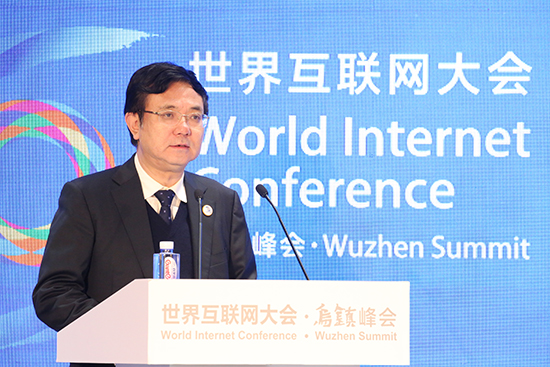 中央人民政府驻澳门特别行政区联络办公室副主任薛晓峰发表演讲。.jpg