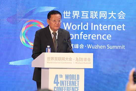 凤凰卫视董事局主席兼行政总裁刘长乐发表主旨演讲.jpg