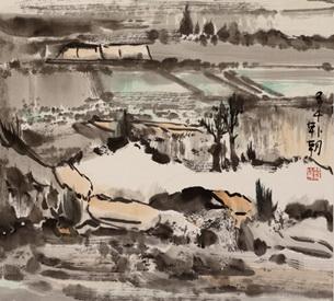 胸中丘壑是吾乡――著名画家韩朝评述