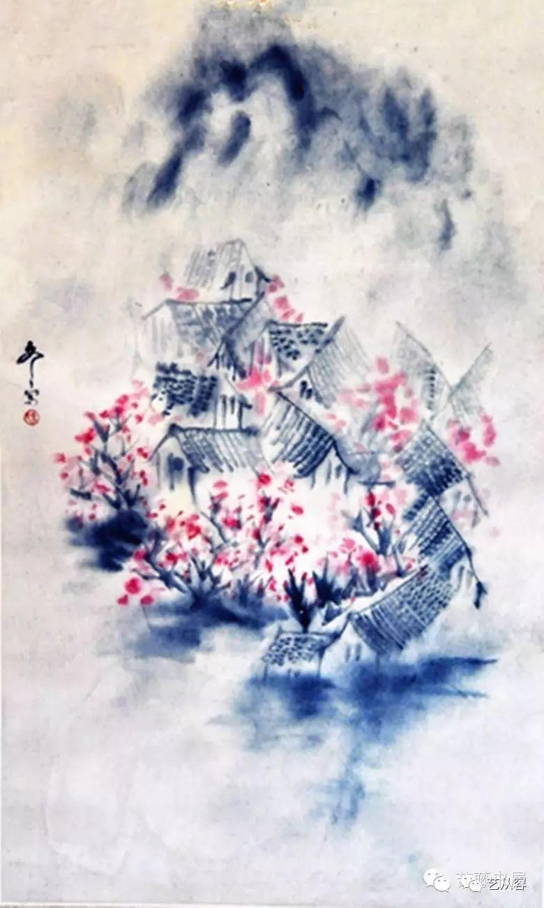 中国意象画_徐冬冬意象绘画《吉祥贵寿图》(1975)中国美术馆收藏