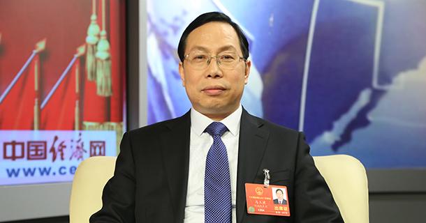 全国人大代表马玉璞做客中国经济网