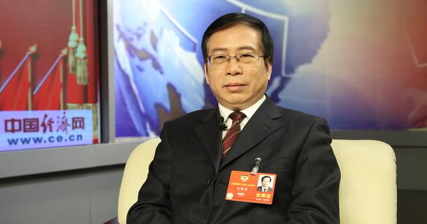 全国政协委员马萧林做客中国经济网