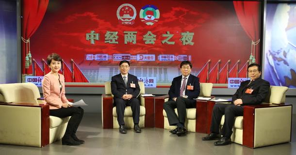 全国政协委员李修松、安来顺、马萧林做客中国经济网