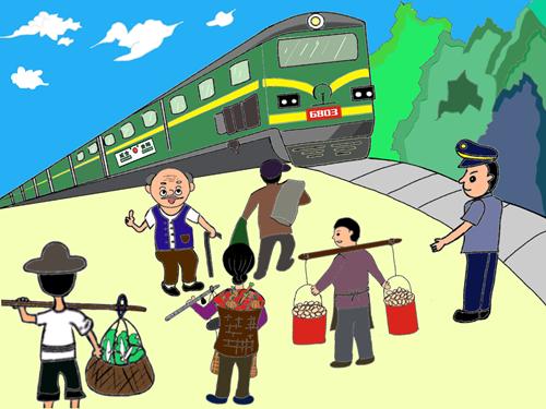 """""""慢火车""""行驶在老乡美好生活的追梦路上"""