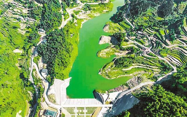 生活用水,惠及人口十六余万人.王太椿 摄-重庆綦江 把采煤沉陷区
