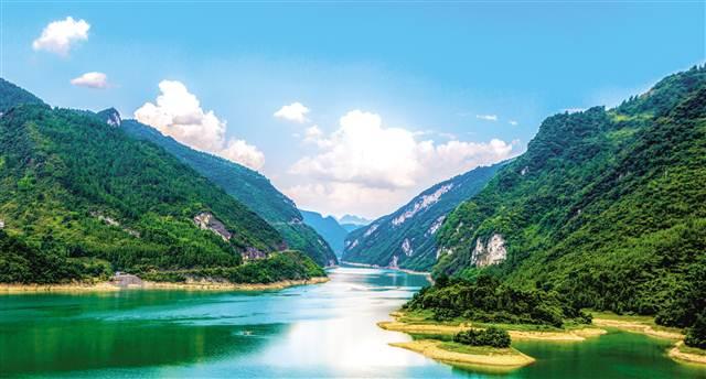 乌江的风景图片