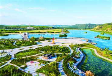 辽宁喀左已成生态宜居塞外水城