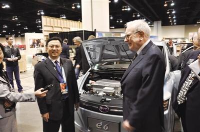 比亚迪王传福:新能源汽车高速增长不会放慢