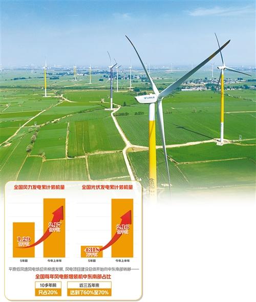 """风电产业""""希望的田野"""":低风速风电场成网红"""