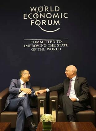 达沃斯蒙牛时刻:蒙牛总裁卢敏放首次作为IBC理事出席达沃斯论坛