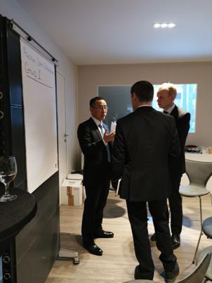 消费品行业领导者会议 卢敏放展示中国乳业的创新与责任