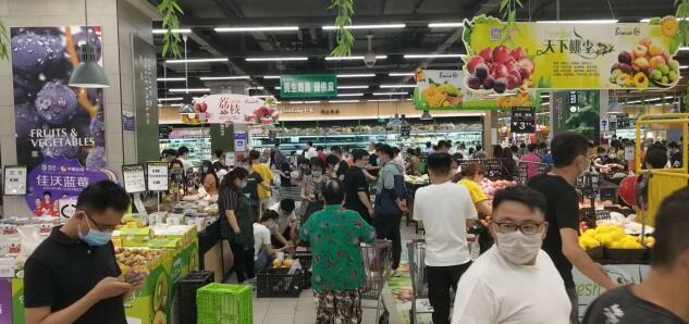 永辉超市一天3000吨蔬果进京 6倍直采供应保供稳价